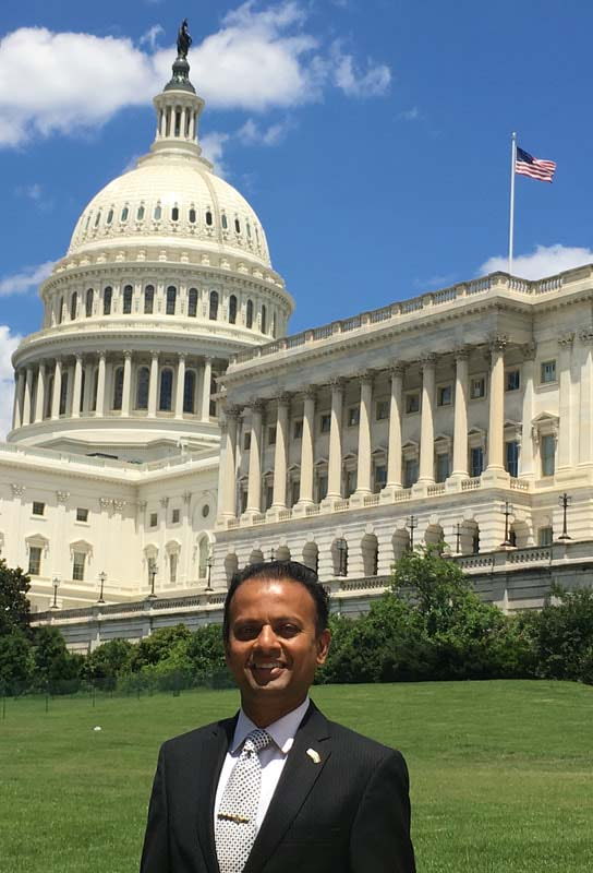 Rishi on Capitol Hill